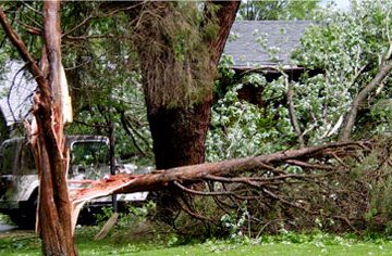 24 Hours Storm Damage Assistance